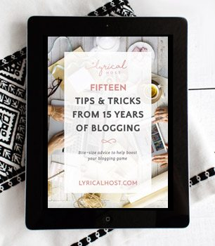 15 tips & tricks from 15 years of blogging
