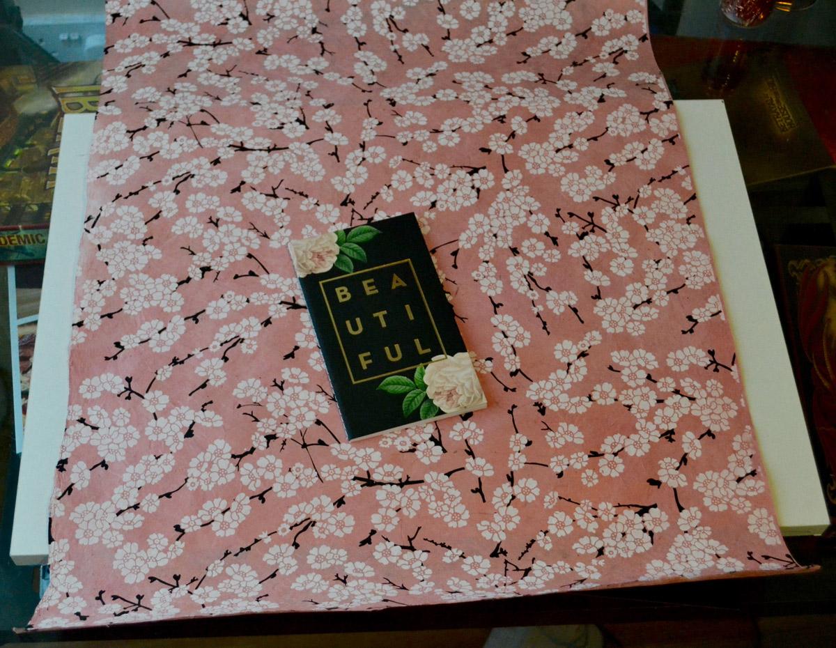 Handmade Paper Flatlay Backdrop