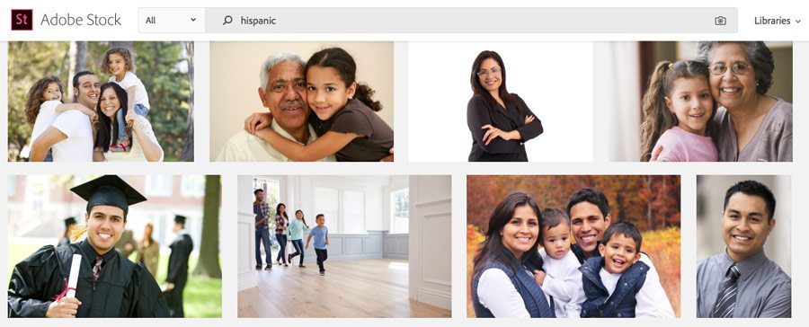 Adobe Stock Photos Hispanic