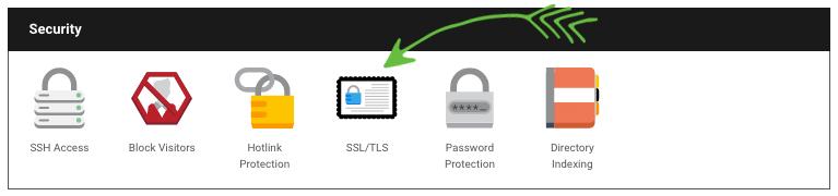 Install Free SSL Certificate