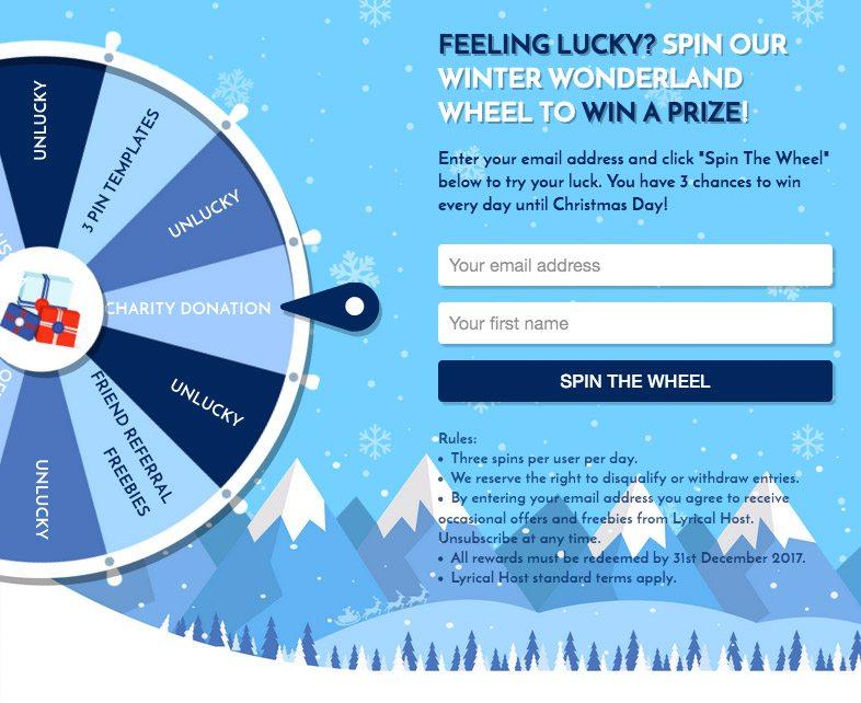Winter Wonderland Wheel