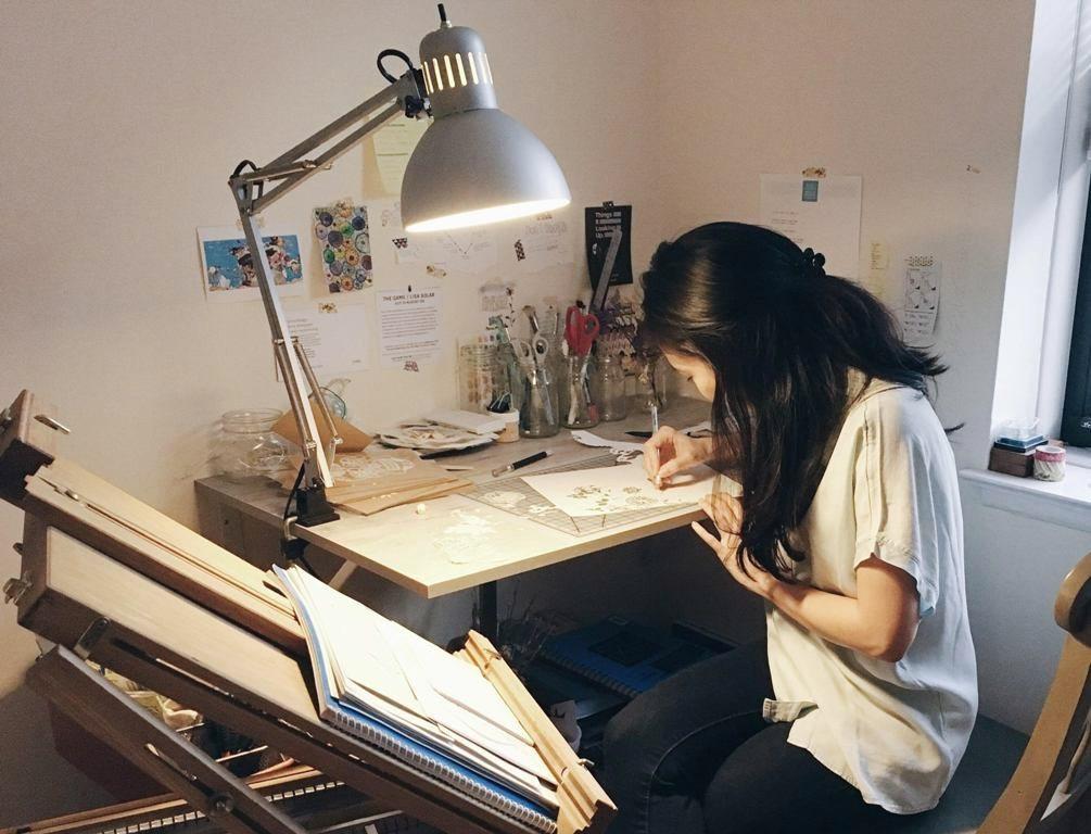 Yang from Paperhugger Studio