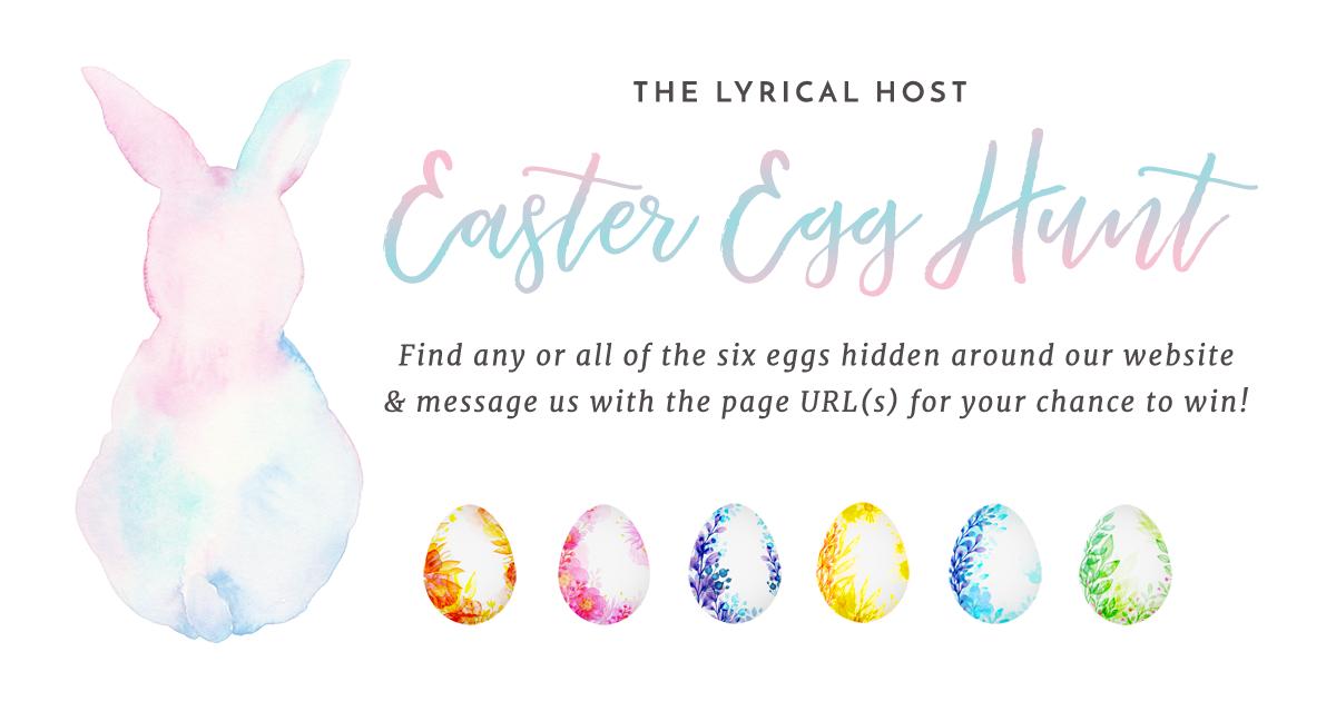 Lyrical Host Easter Egg Hunt