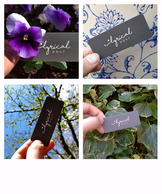 Mini Business Card Photos