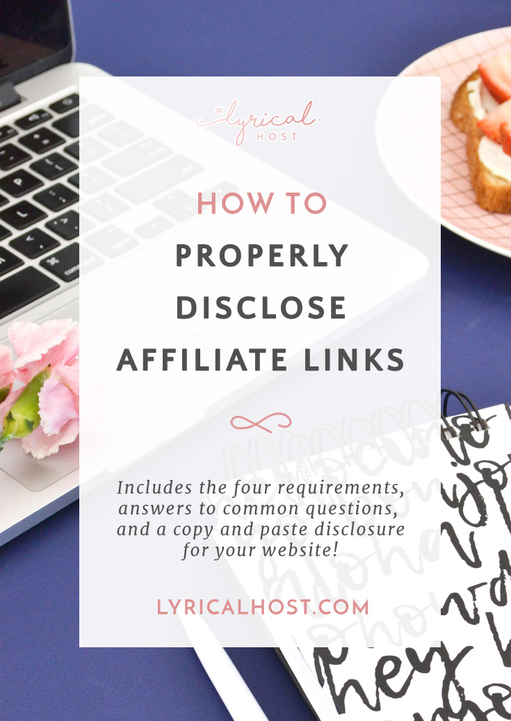 How To Disclose Affiliate Links