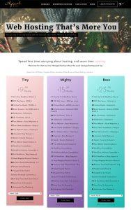 Lyrical Host Christmas Homepage